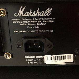 Marshall Mg - 100 dFx
