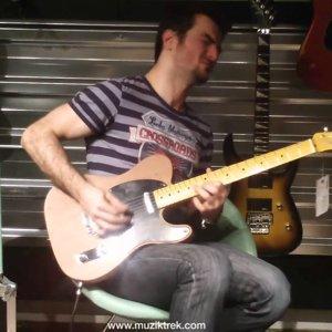 Fender Old Growth Redwood Telecaster Test- Müziktrek