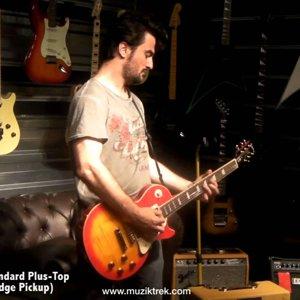 Gibson Les Paul 2008 Standard Vs. Epiphone Les Paul Standard Plus-Top-Müziktrek