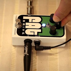 Pigtronix Fat Drive Tube-Sound Overdrive Pedal