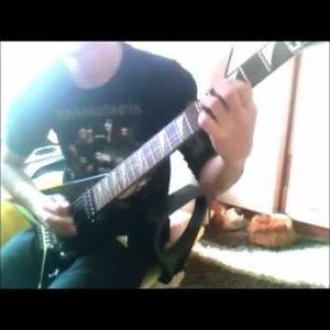 megadeth - she wolf jackson guitar cover (emre mert)