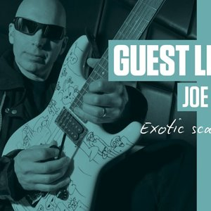 Joe Satriani Guest Lesson - Exotic scale practice (TG235)