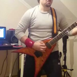 Overkill Armorist guitar cover with solo... - YouTube
