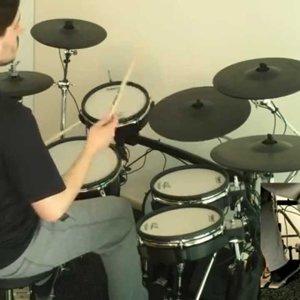 Savatage - Edge of Thorns drum cover - YouTube