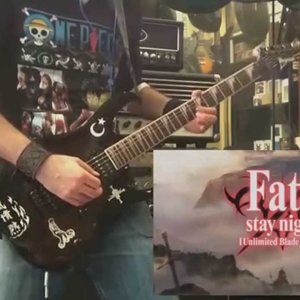 Fate/Stay Night [UBW] Op2 - Brave Shine(Guitar Cover) - YouTube