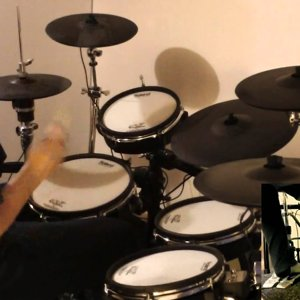 Dream Theater - Fatal Tragedy outro drum cover - YouTube