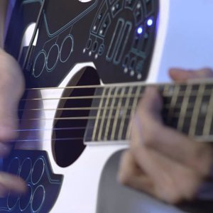 World's First Wireless MIDI Guitar Controller for Acoustic Guitar - ACPAD - YouTube