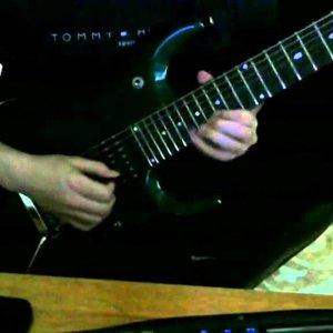 john petrucci rockdiscipline ex16 jazz/rock solo cover - YouTube
