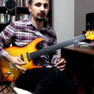 Another Day Fretless Guitar Intro - YouTube