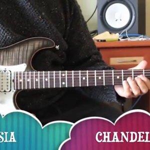 Sia - Chandelier (guitar cover) - Murat ibze - YouTube