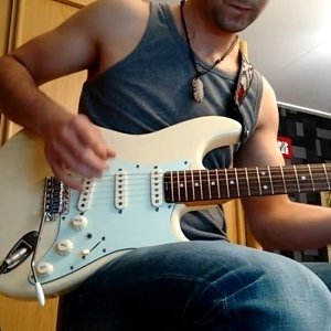 Bonjovi - You give love a bad name - guitar cover - YouTube