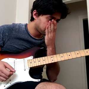 Özgür Abbak, İmece, gitar solo 1 cover - YouTube