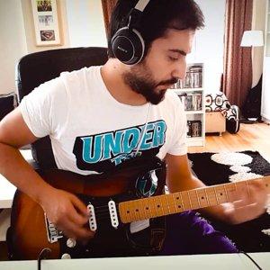 Athena - Sakla beni gitar cover (Ekrem Yaprak) - YouTube