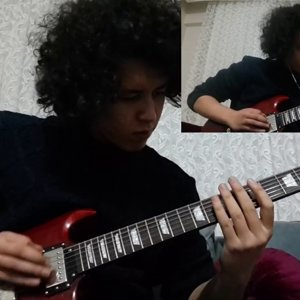 Avenged Sevenfold - Almost Easy Cover(/w Solo) - YouTube