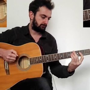how to play Shape of my heart