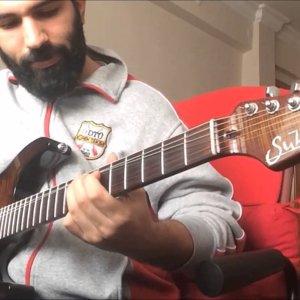 Improvisation over Ethereal Backing Track Jam in B - YouTube