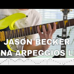 Jason Becker - Serrana Arpeggios Lesson & Tab - YouTube