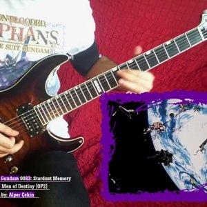 Gundam 0083 - OP2 (Guitar Cover) - YouTube