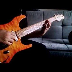 Guitar Solo Improvisation in Bm