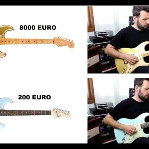 Erdem Birgül- 200€ vs 8000€ FENDER KARŞILAŞTIRMASI