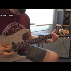 Erkan Sızarlar ES Custom Elektrik Gitar Demo