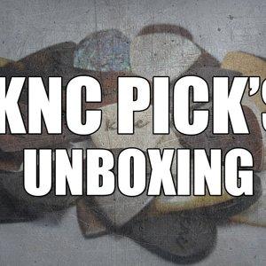 KNC Pick Bone & SnakeWood - Unboxing