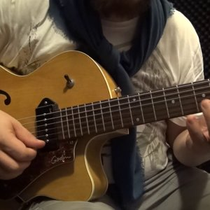 Easy Jazz Guitar Lick (with Tabs) #1
