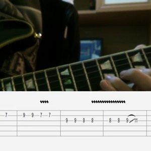 gitar dersi -elektro gitarla ben yoruldum hayat - (TAB'lı)