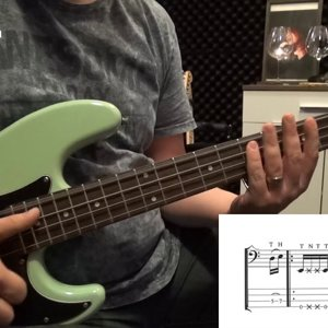 Left Hand Slap Lesson (with Tabs)