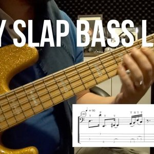 Easy Slap Bass Lines with KSD Proto J #1