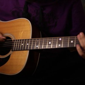 Greensleeves Acoustic Cover via Martin D28 D-28