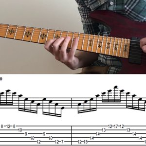 Alternate Picking, Sweep Picking, Tapping Exercises