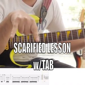 Paul Gilbert - Scarified Lesson & Tab