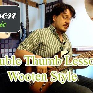Wooten Stili Double Thumb Slap Tekniği 1. Bölüm