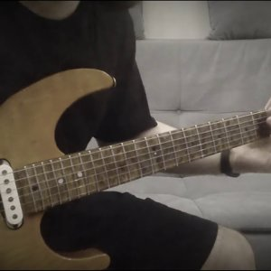 Improvisation over a Metal Backing Track