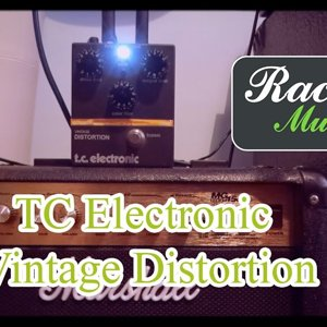 TC Electronic Vintage Distortion Guitar Pedal Demo