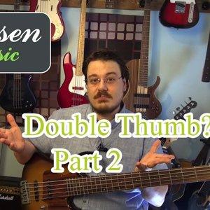 Wooten Stili Double Thumb Slap Bas Dersi 2. Bölüm