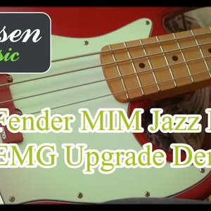 Fender Jazz Bass EMG & Hipshot Upgrade Demo