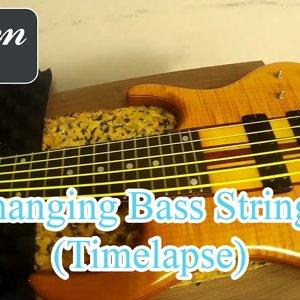 Bas Gitar Telini nasıl değiştiriyorum? (Hızlandırılmış Çekim)
