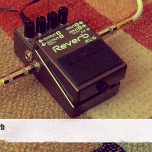 Boss RV-6 Reverb Demo