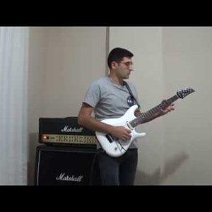Joe Satriani Thunder high on the mountain cover by Kaya