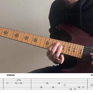 On The Backs Of Angels - Tab + Lesson (D tunning)
