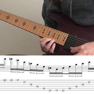 Jeff Loomis - Miles of Machines (Tab+Lesson)