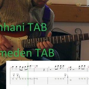 Pinhani Yitirmeden gitar solo cover tab guitar pro