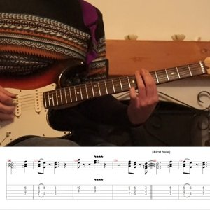 Sultans Of Swing Dire Straits cover with tabs Line 6 Hx Stomp