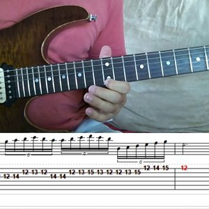 QUEENSRYCHE - THE MISSION - Chris DeGarmo solo with tablature