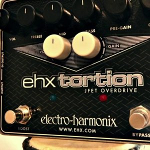Electro Harmonix EHXtortion JFET Overdrive / Preamp