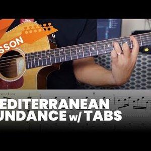 Mediterranean Sundance Lesson with Tabs