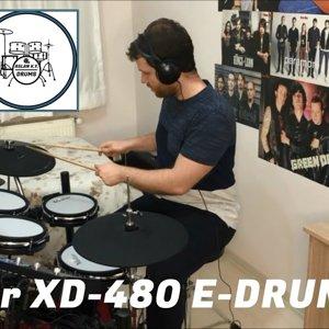 Valler XD-480 Electronic Drum Kit Review (E-Drum Kit)