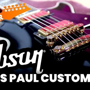 Gibson Les Paul Custom Black Beauty 2001